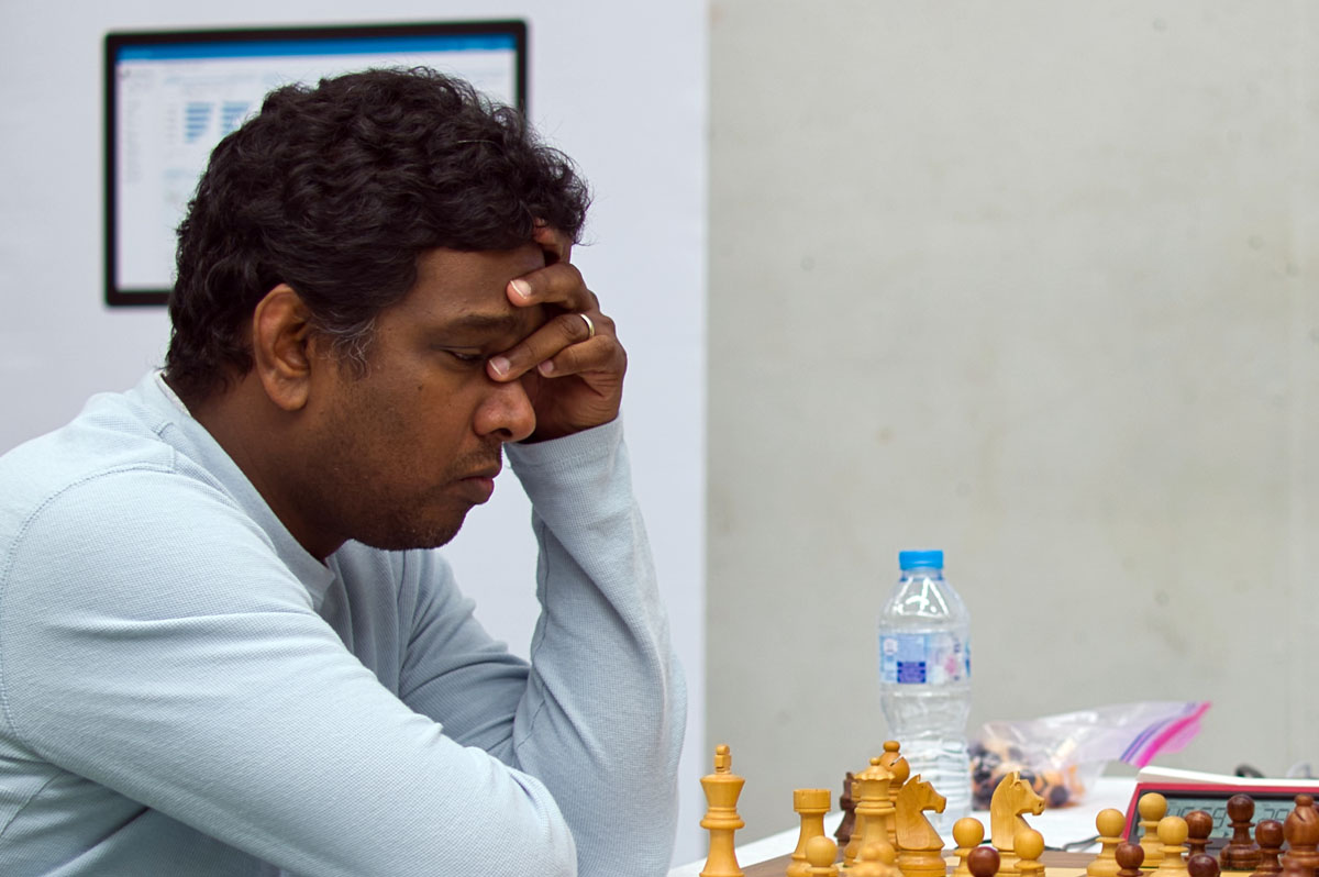Hastings winner GM Magesh Chandran Panchanathan